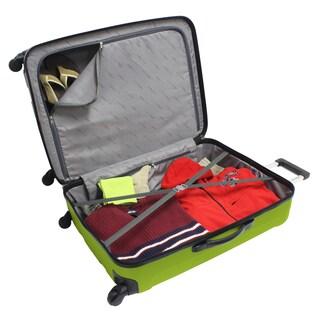 Traveler's Choice Rome 28-inch Large Hardside Spinner Upright Suitcase