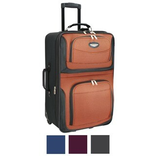 Travel Select by Traveler's Choice Amsterdam 25-inch Medium Expandable Upright Suitcase (3 options available)