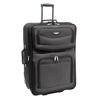 ae5a0288c468 Travel Select by Traveler s Choice Amsterdam 29-Inch Large Expandable  Rolling Upright Suitcase