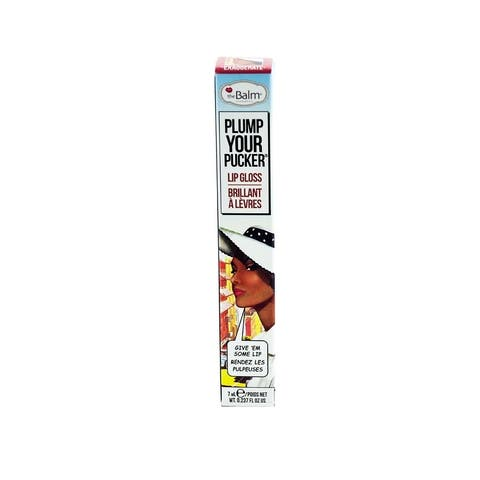 theBalm Plump Your Pucker Lip Gloss, Exaggerate
