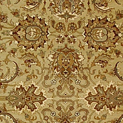 Safavieh Hand-knotted Beige/ Ivory Heritage Wool Rug (9' x 12') - Thumbnail 2
