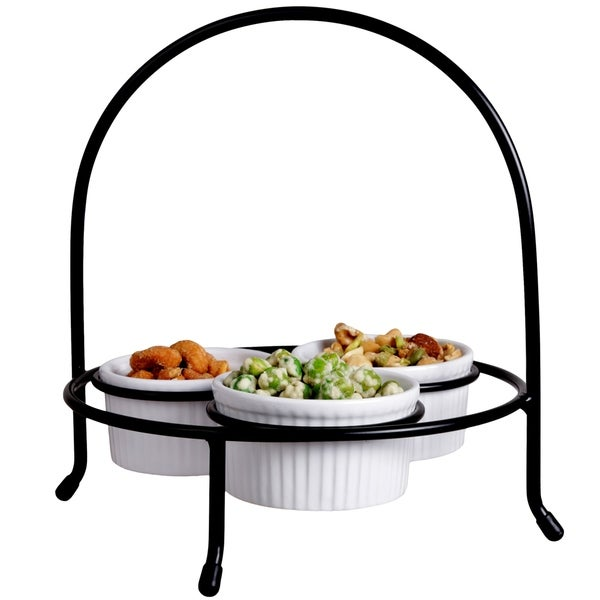 Creative Home Iron Works 4 pc Condiment Set. Opens flyout.