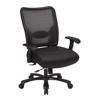 office star big and tall mesh office chair - free shipping today