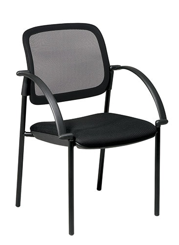 Office Star Screen Back Mesh Guest Chair