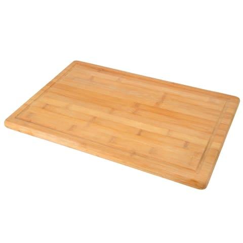 "Creative Home Exotic Natural Bamboo Cutting Board, 12"" W x 18"" L"