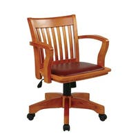 Office Star Padded Banker's Chair