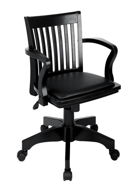 Office star bankers chair with padded seat 11166356 overstock com