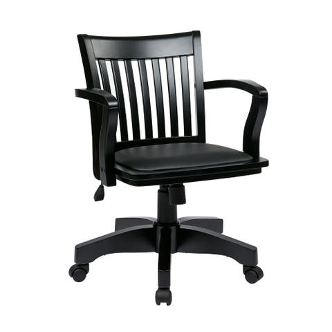Bankers Chair with Padded Seat
