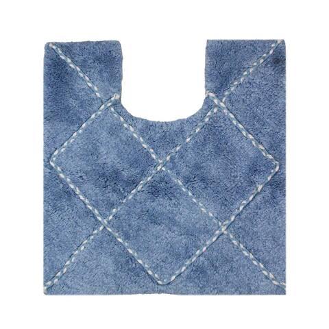 Porch & Den Parrish Diamond Pattern 20-inch Bath Rug