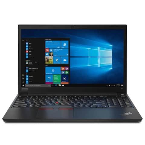 "Lenovo ThinkPad E15 20RD005JUS 15.6"" Notebook - 1920 x 1080 - Core i3 i3-10110U - 8 GB RAM - 1 TB HDD - Black"