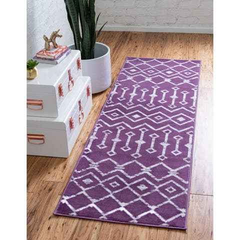The Curated Nomad Ansi Trellis Rug