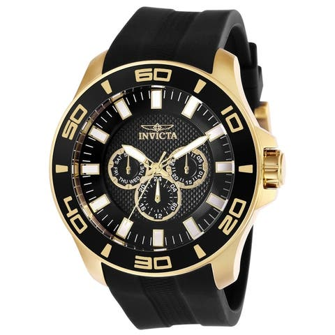 Invicta Men's Pro Diver 28001 Gold Watch