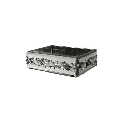 Harlow Soap Dish - Silver Mirror