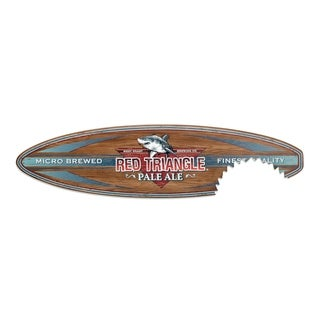 16 x 60 Red Triangle Surfboard