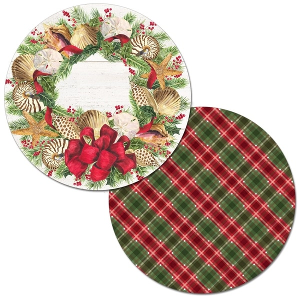 Shop Round Reversible Wipe-clean Placemats Set of 4 ...