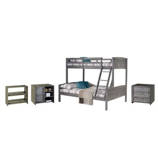 Link to Twin over Full Bunk with Case Goods Similar Items in Kids' & Toddler Furniture