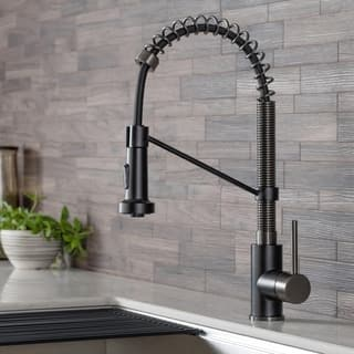 Kraus KPF-1610 Bolden 2-Function Commercial Pull Down Kitchen Faucet