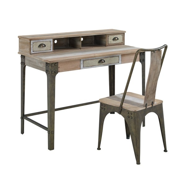 Griffin Industrial Writing Desk. Opens flyout.