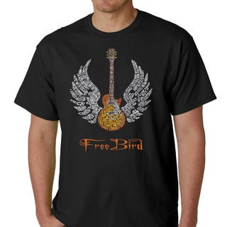 Skynyrd Men's Rock & Roll Freebird 'Lyric' T-shirt