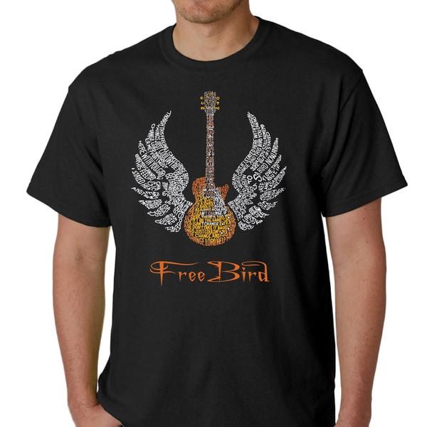 Skynyrd Men's Rock & Roll Freebird 'Lyric' T-shirt. Opens flyout.