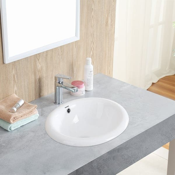Bathroom Top Mount Vanity Sink