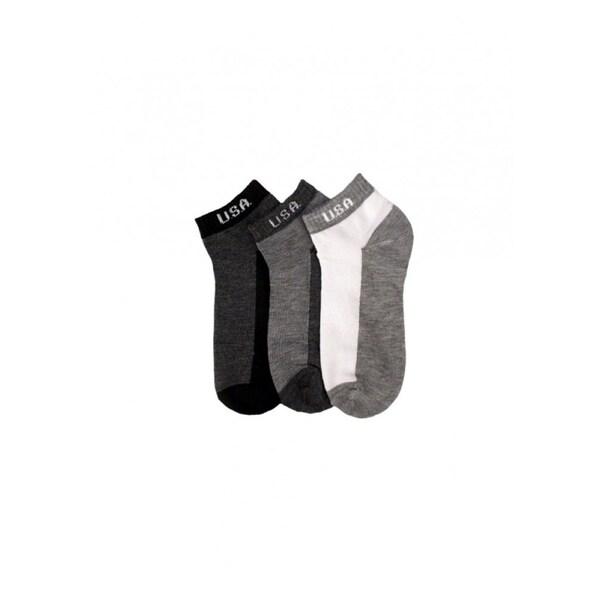 POWER CLUB Mens 12-PAIRS Low Cut Socks - 70043_B-USA