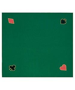 Green Felt Texas Hold 'Em Poker Game Layout