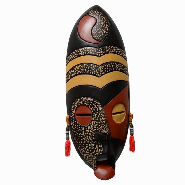 Handcrafted 'Spirit of Africa' Mask, Handmade in  , Handmade in Ghana