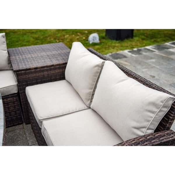 Outdoor Sofa Set Wicker Patio Sectional