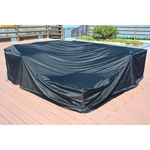 Moda Large Square Table and Chair Set Cover Outdoor Sofa Waterproof Cover