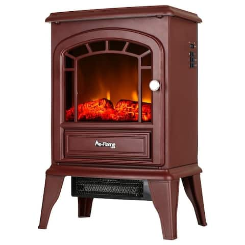 Aspen Portable Electric Fireplace by e-Flame USA