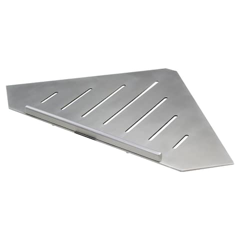 Transolid Shower Shelf, In Brushed Stainless