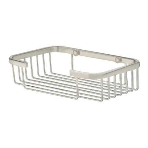 Transolid Shower Basket, In Brushed Stainless
