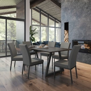 Torino Table and 6 Cenon Chairs Dining Set