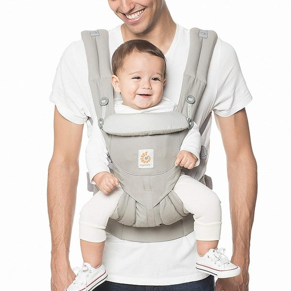 Ergobaby Omni 360 All-in-One Ergonomic Baby Carrier, All Carry Positions, Newborn to...