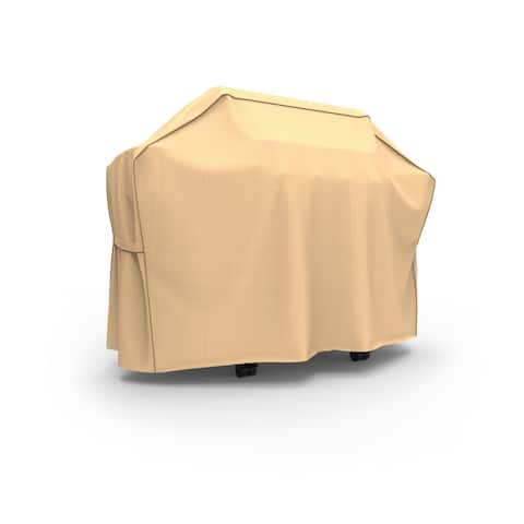 Budge Outdoor Waterproof BBQ Grill Cover, Sedona, Tan, Multiple Sizes
