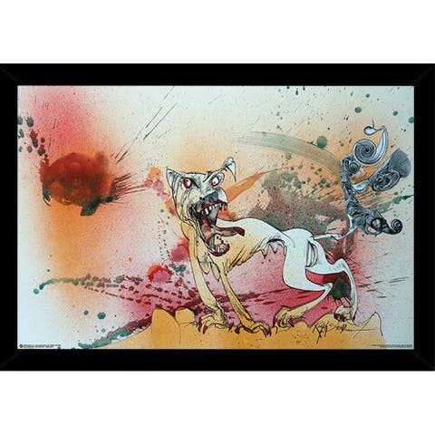 Ralph Steadman - Raging Poster with Choice of Frame (24x36)