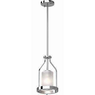 Volume Lighting Emery 1 Light Chrome Mini Pendant Overstock 30237281