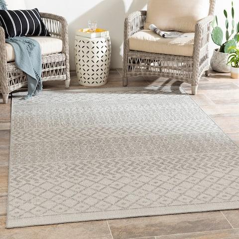 Gracela Indoor / Outdoor Moroccan Area Rug