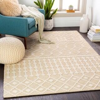 Maren Handmade Moroccan Wool Area Rug