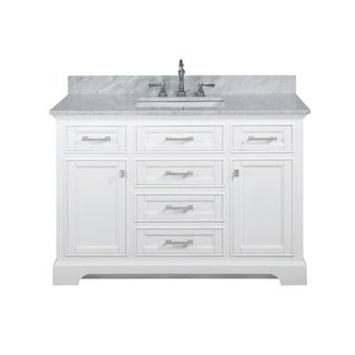 "Milano 48"" Single Vanity in White"