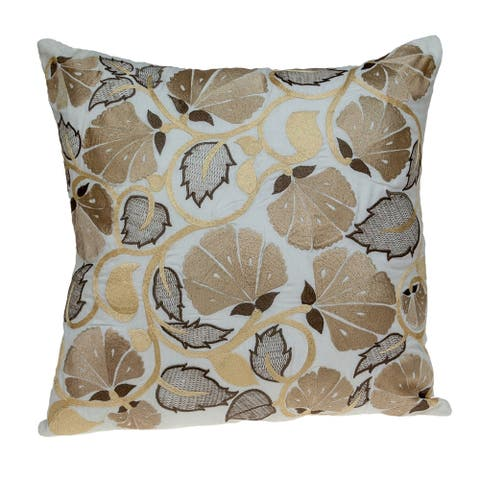 Parkland Collection Cassidy Accent White Pillow Cover
