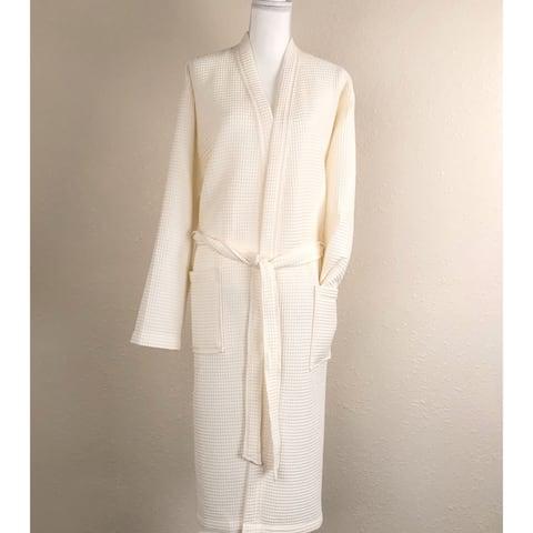 Bora Bora Waffel Pattern Cotton Bath robe
