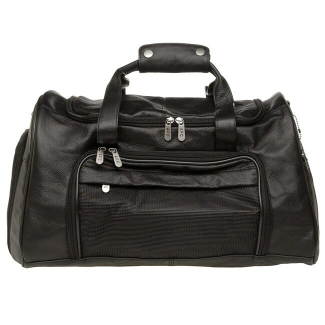 Royce Leather 18-inch Duffel Bag