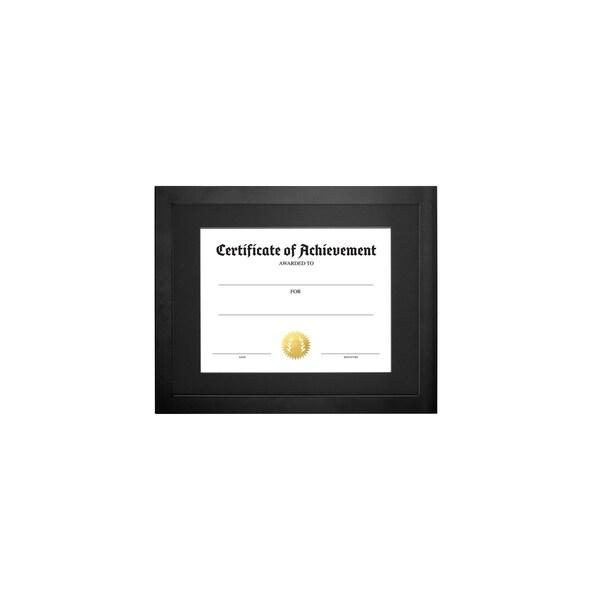 """Parkwood- Legal Document Size, Black Mat 8.5"""" x 11"""" Black"""