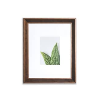 """VISTA Daintree 11""""x 14"""" Picture Frame, Wide Bevel in BRONZE, Wide Mat w 8""""x 10"""" Opening"""