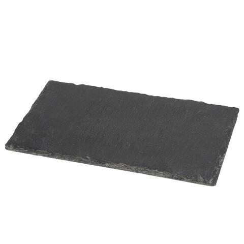 "Creative Home Slate Rectangular Serving Board, Small, 5.5"" x 12"""