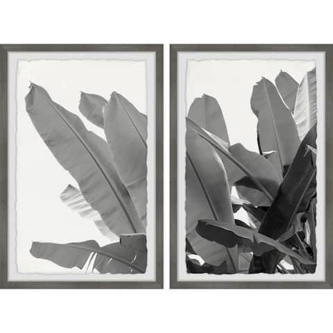 Tropical Greenery Diptych