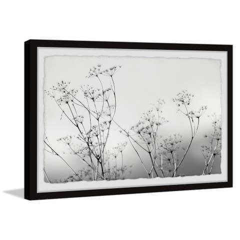 Strick & Bolton Misty Flowers Framed Print