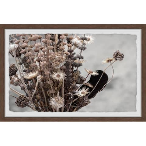 Copper Grove Flower Power Framed Painting Print
